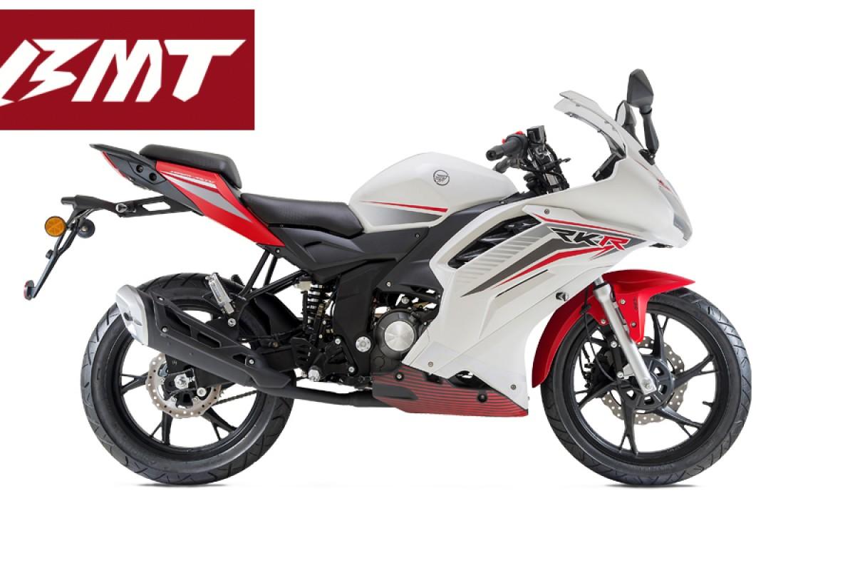 White RKR 125cc