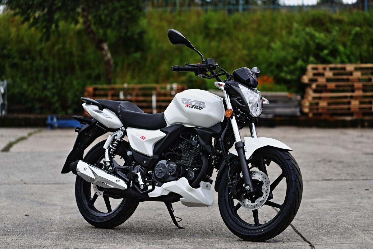 White RKS 125cc