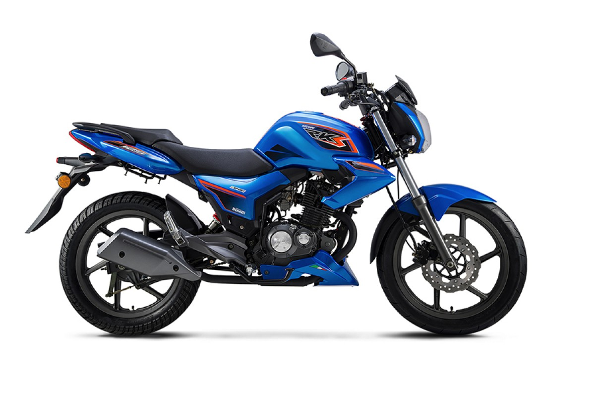 Blue RKS 125 Sport