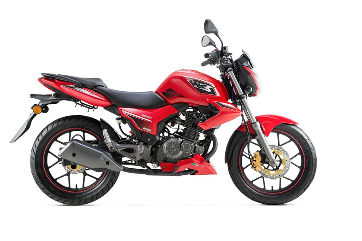 Red RKS 125 Sport