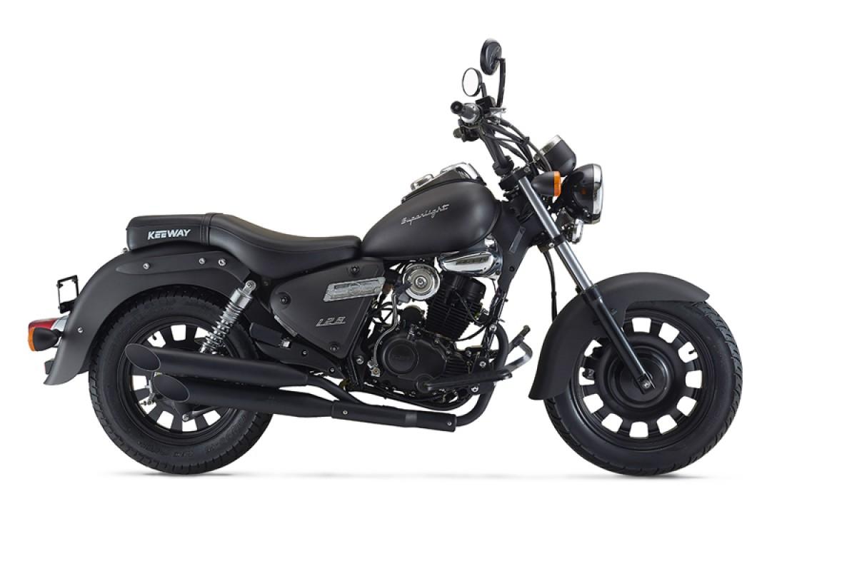 Matt Black Superlight 125cc LTD E5