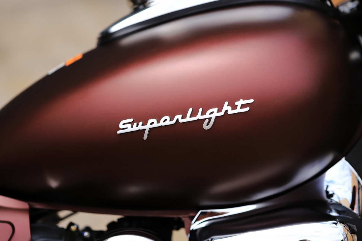 Matt Red Superlight 125cc LTD E5