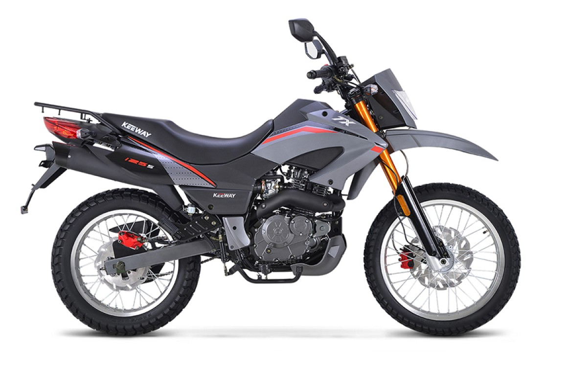 Grey TX 125 Enduro