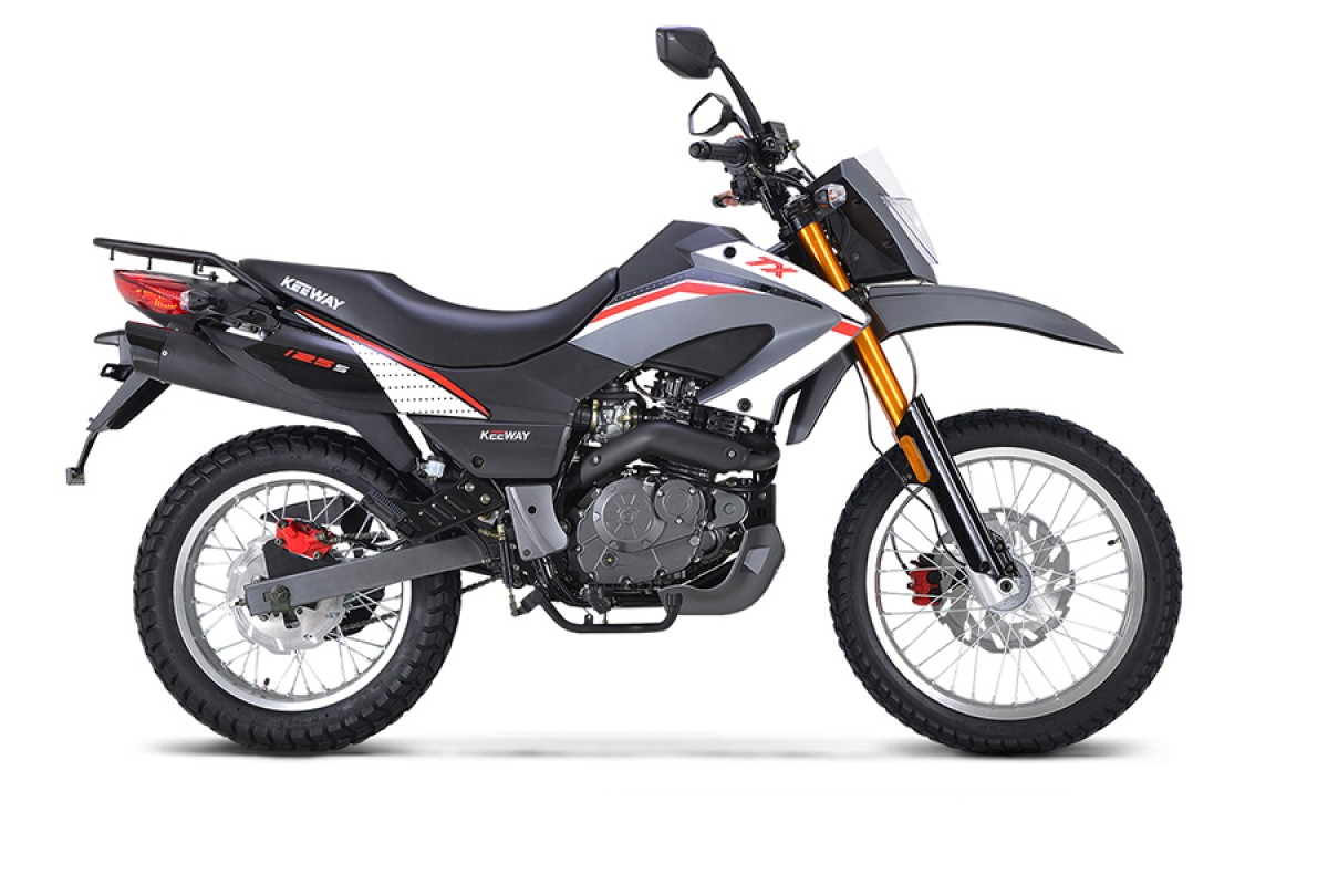 White TX 125 Enduro