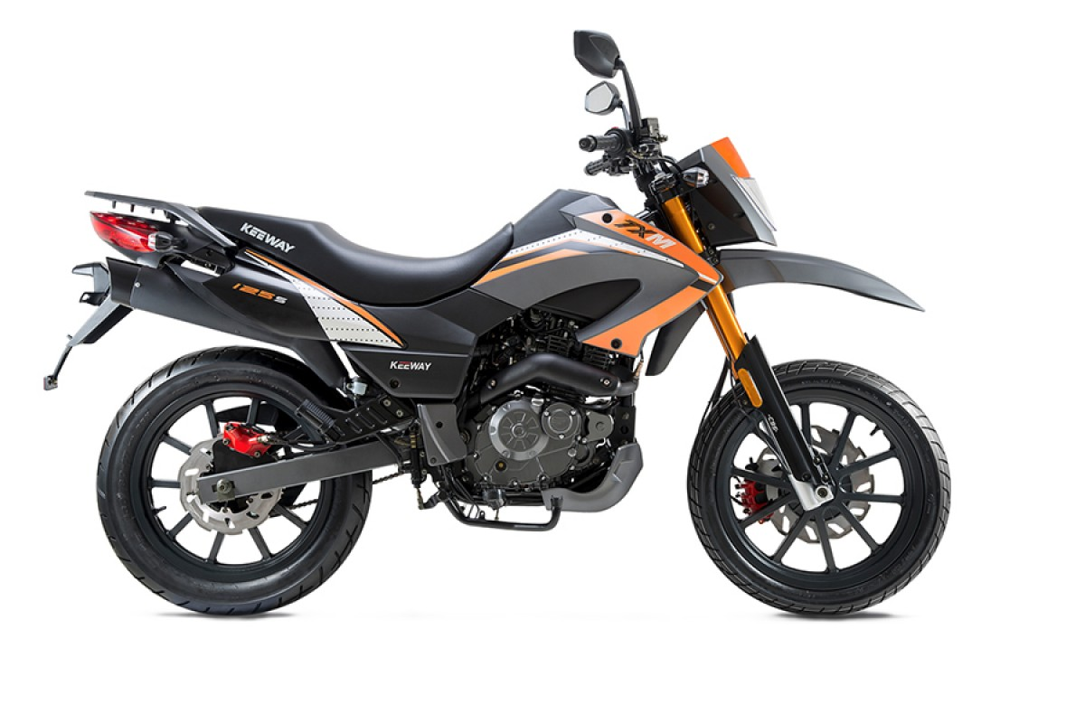 Orange TX 125cc SuperMoto