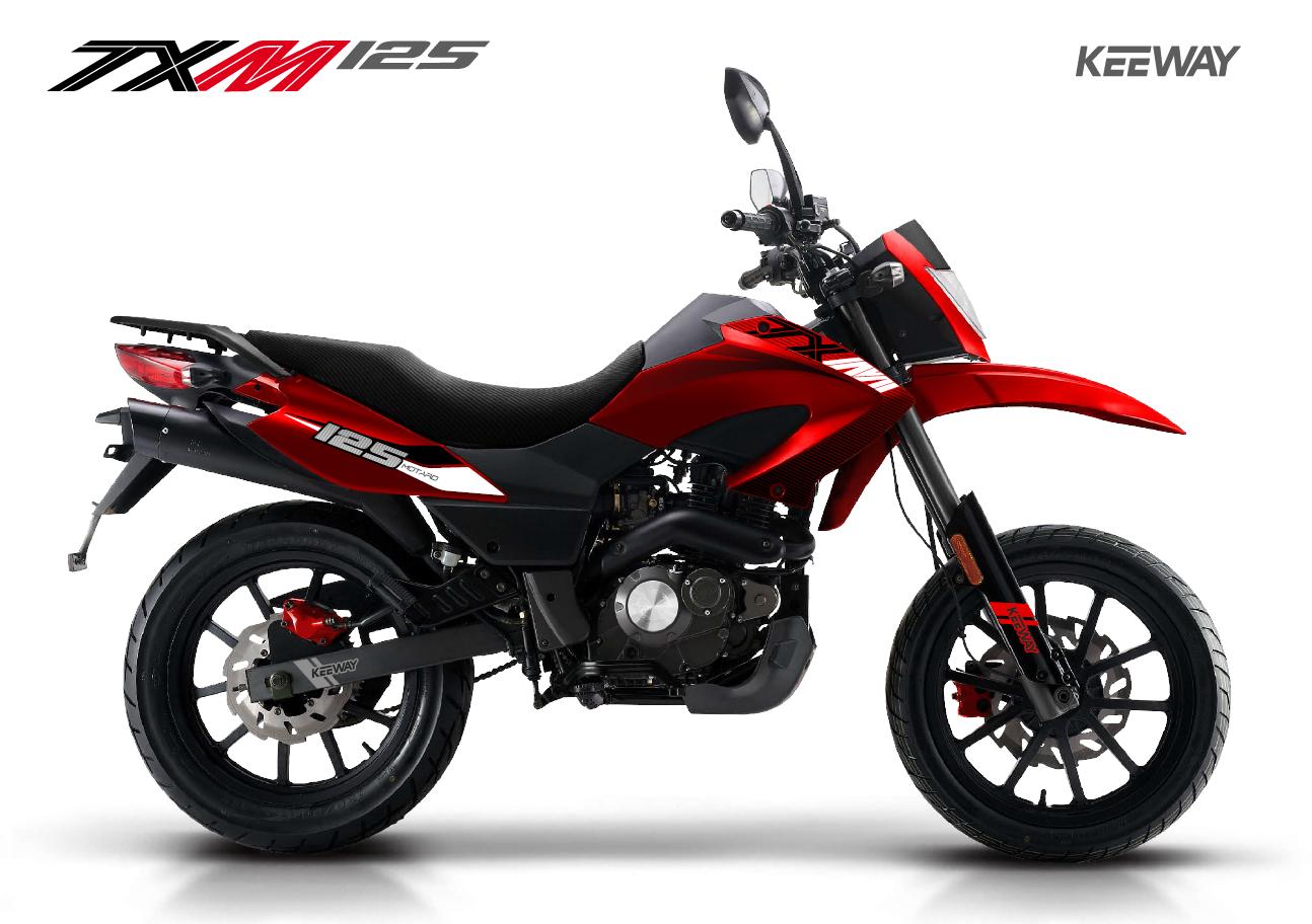 Keeway TX 125cc SuperMoto 2020