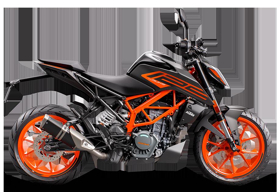 Black 2021 Duke 125