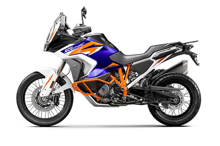 New BlueKTM 2021 KTM 1290 Super Adventure R