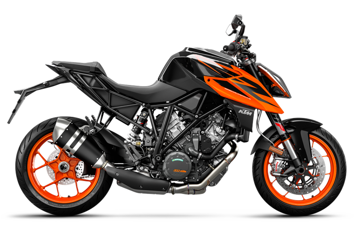 Black 1290 Super Duke R