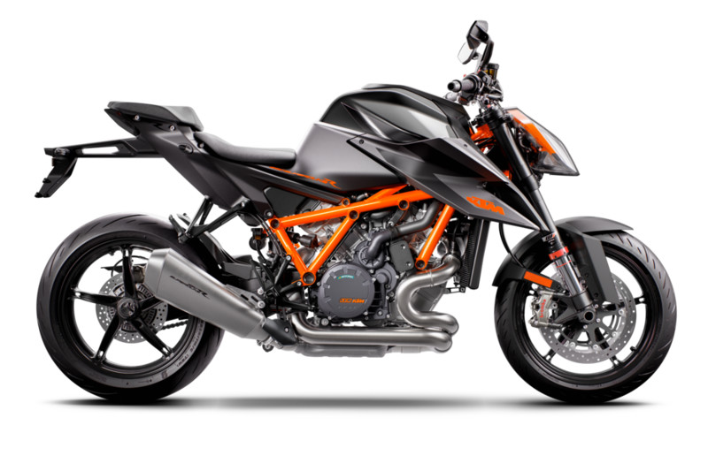 Black 2020 1290 Super Duke R