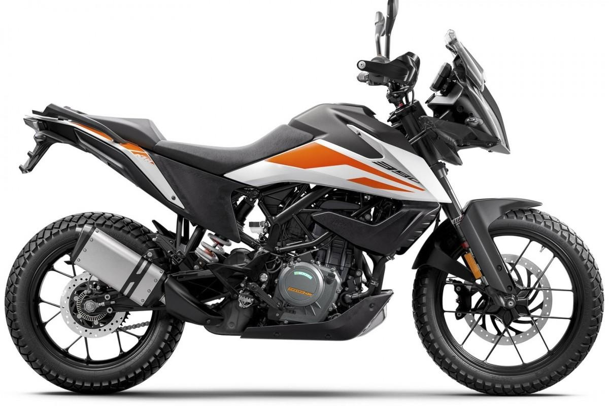 KTM 2020 KTM 390 Adventure Motorcycle A2 License frien