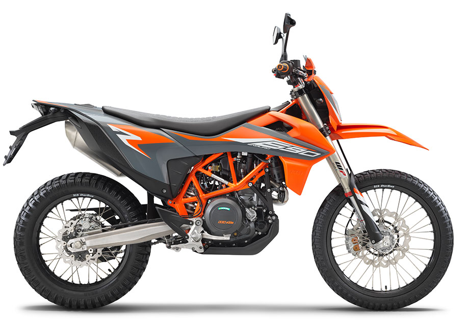 GREY 2021 KTM 690 Enduro R 'Plus Edition'