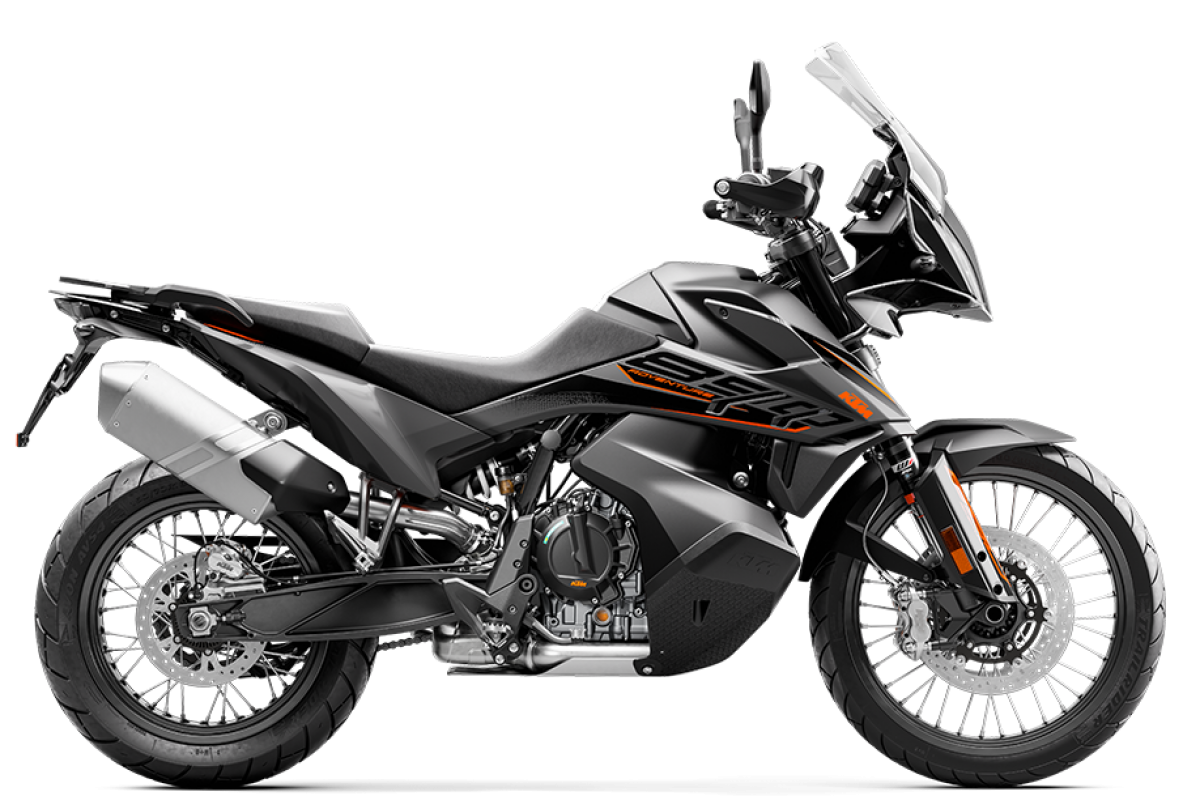 Black 2021 KTM 890 Adventure