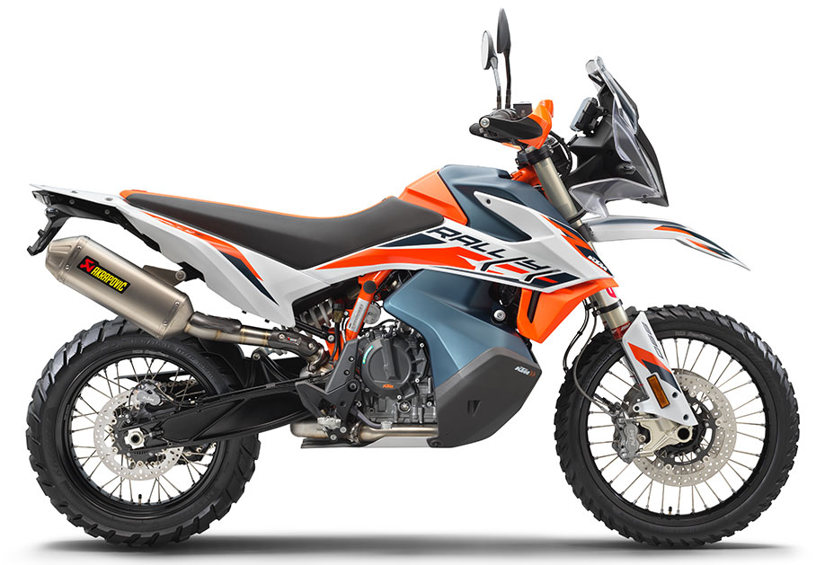 Dimensions 2021 KTM 890 Adventure R Rally