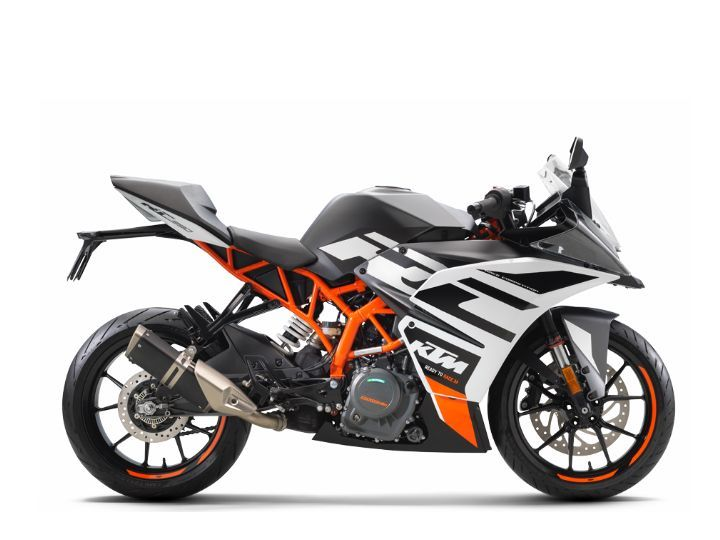 New BlackKTM RC 390
