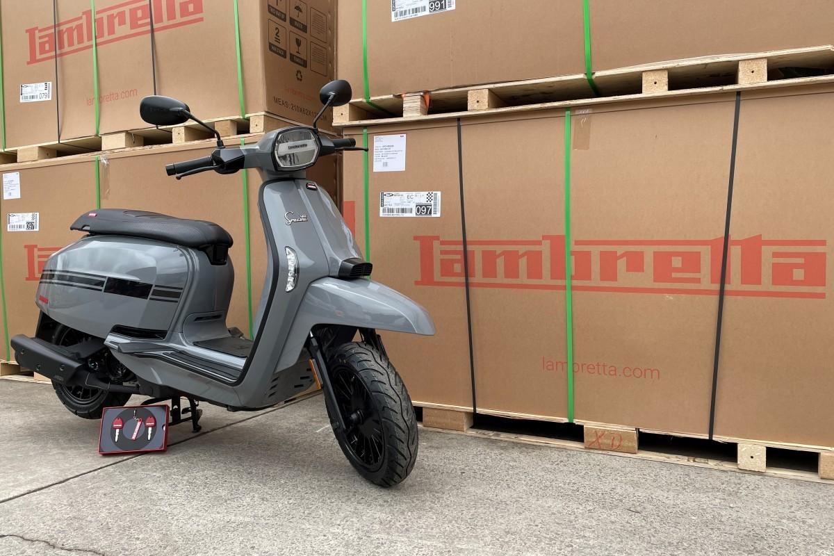 Lambretta V 125cc Special E5