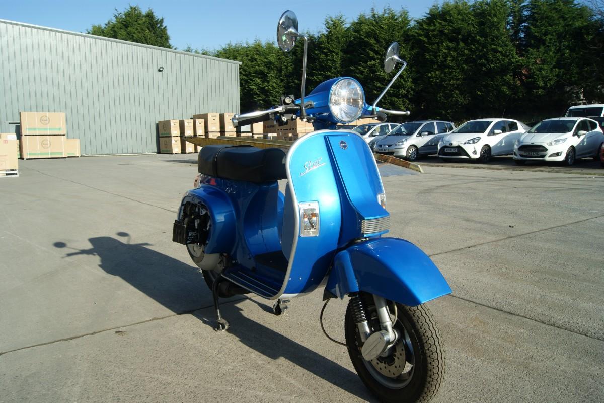 Electric Blue Lite 125 Pre Reg PJ68
