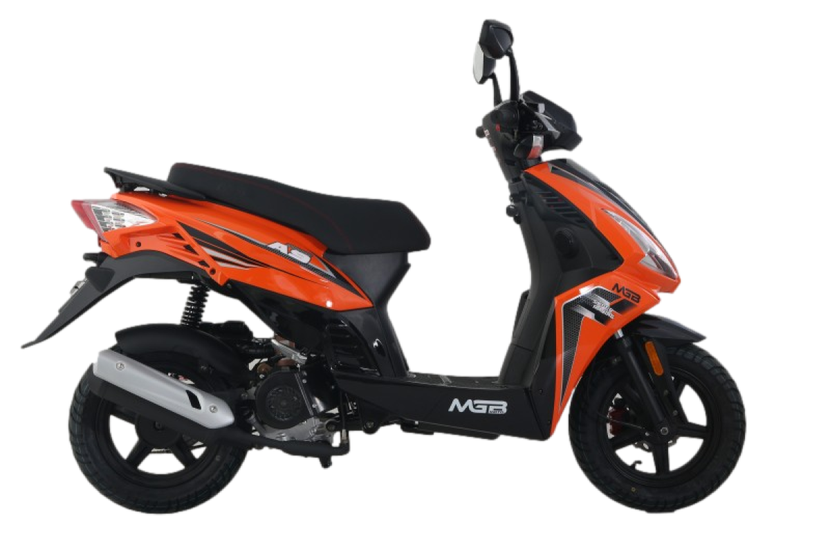 Orange A9 125cc