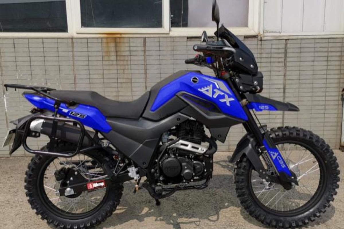 Blue ATX 125cc Adventure