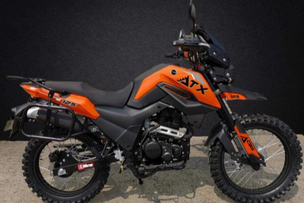 Orange ATX 125cc Adventure