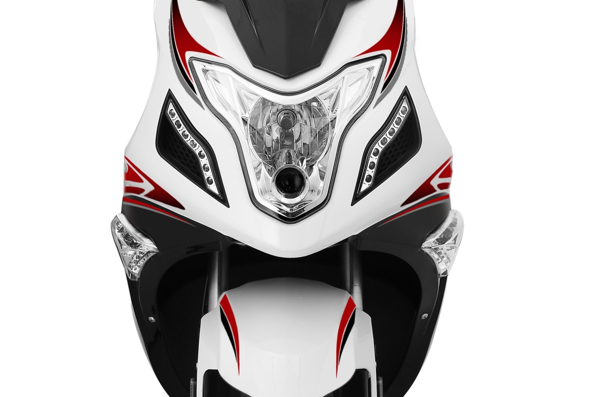 White R8 125cc