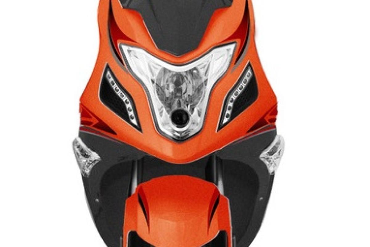 Orange R8 50cc