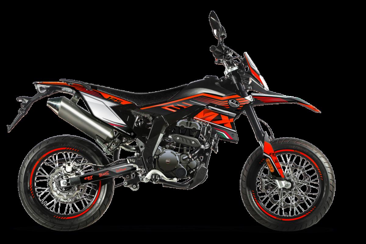 Red/Black SMX Motard 125cc