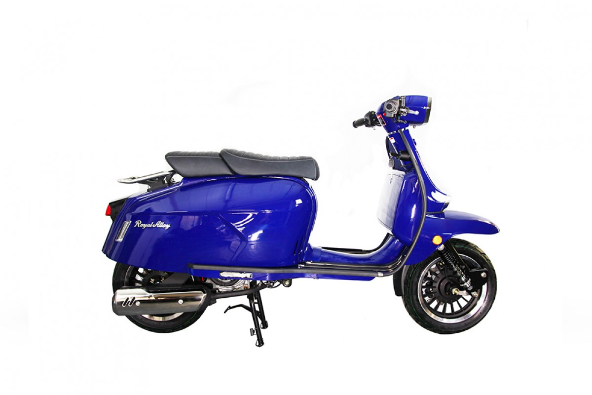 Metal Blue Very Low Stock GP 125cc AC
