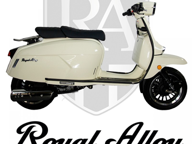Royal Alloy GP 125cc AC 2020