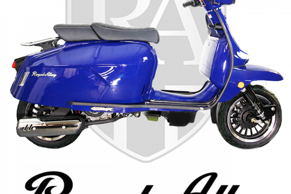 Metal Blue GP 125cc ABS Liquid Cooled