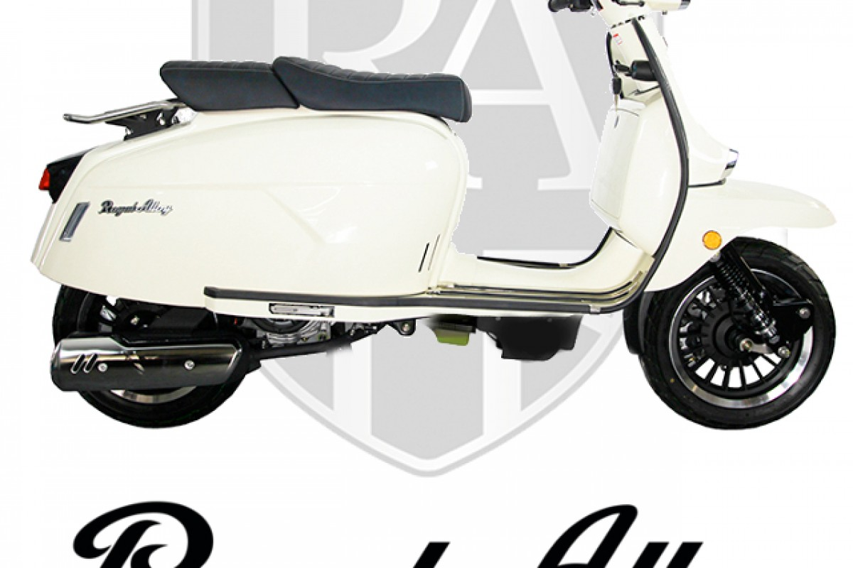 Pearl White GP 125cc ABS Liquid Cooled