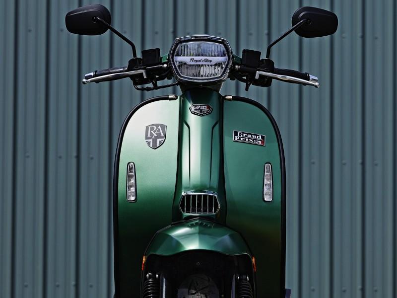 Royal Alloy GP 125cc ABS LC 2021
