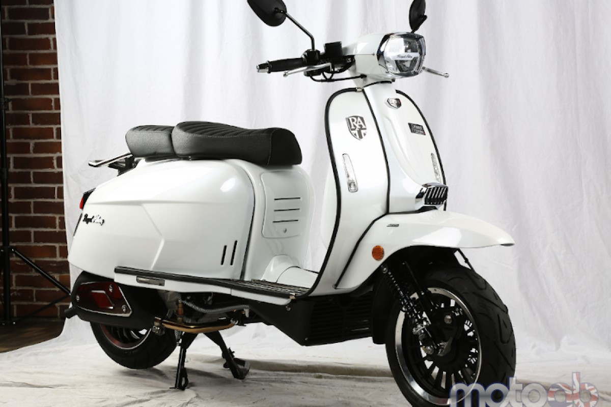 Pearl White Very Low Stock GP 300cc LC ABS