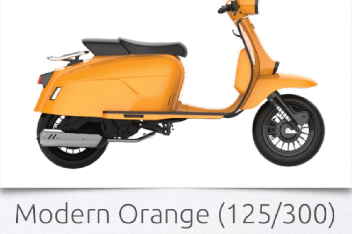 MODERN ORANGE GP 300 S LC ABS E4