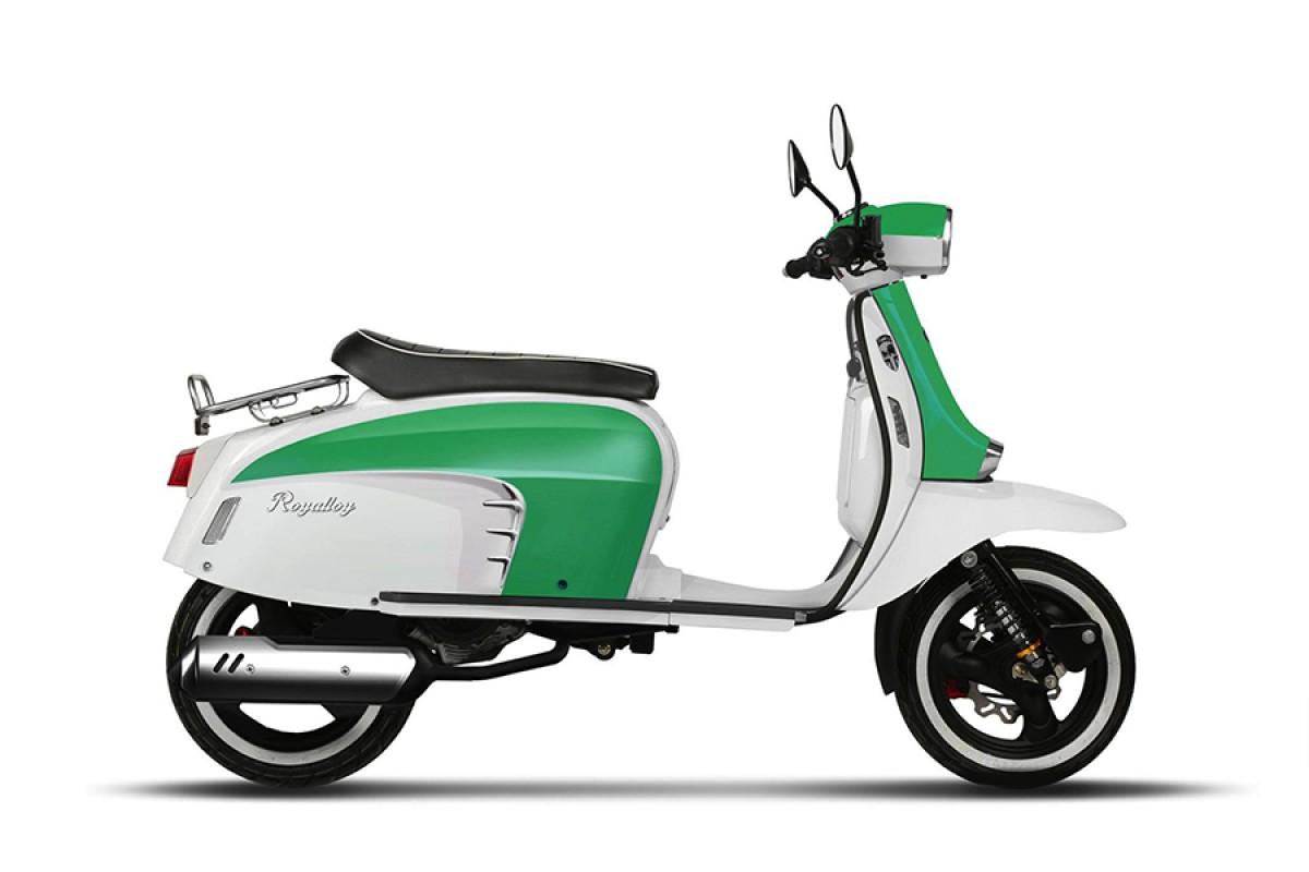 Green/White GT 125 AC CBS E4