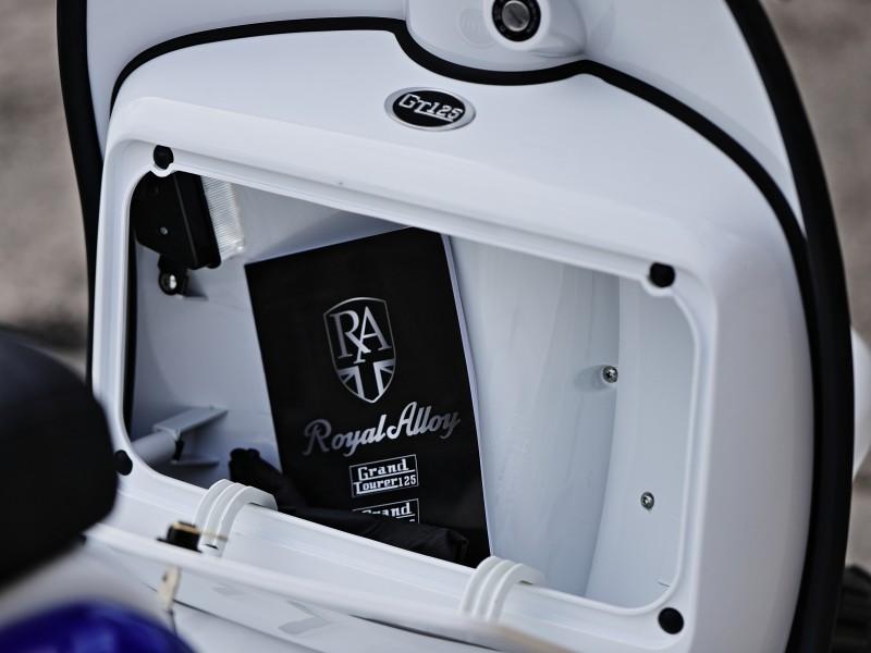 Royal Alloy GT 125 AC CBS E4 2020