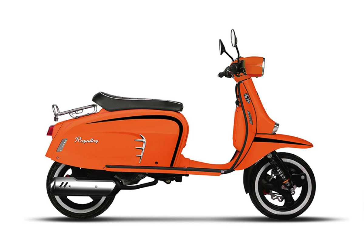 Orange Low Stock GT 200cc LC ABS