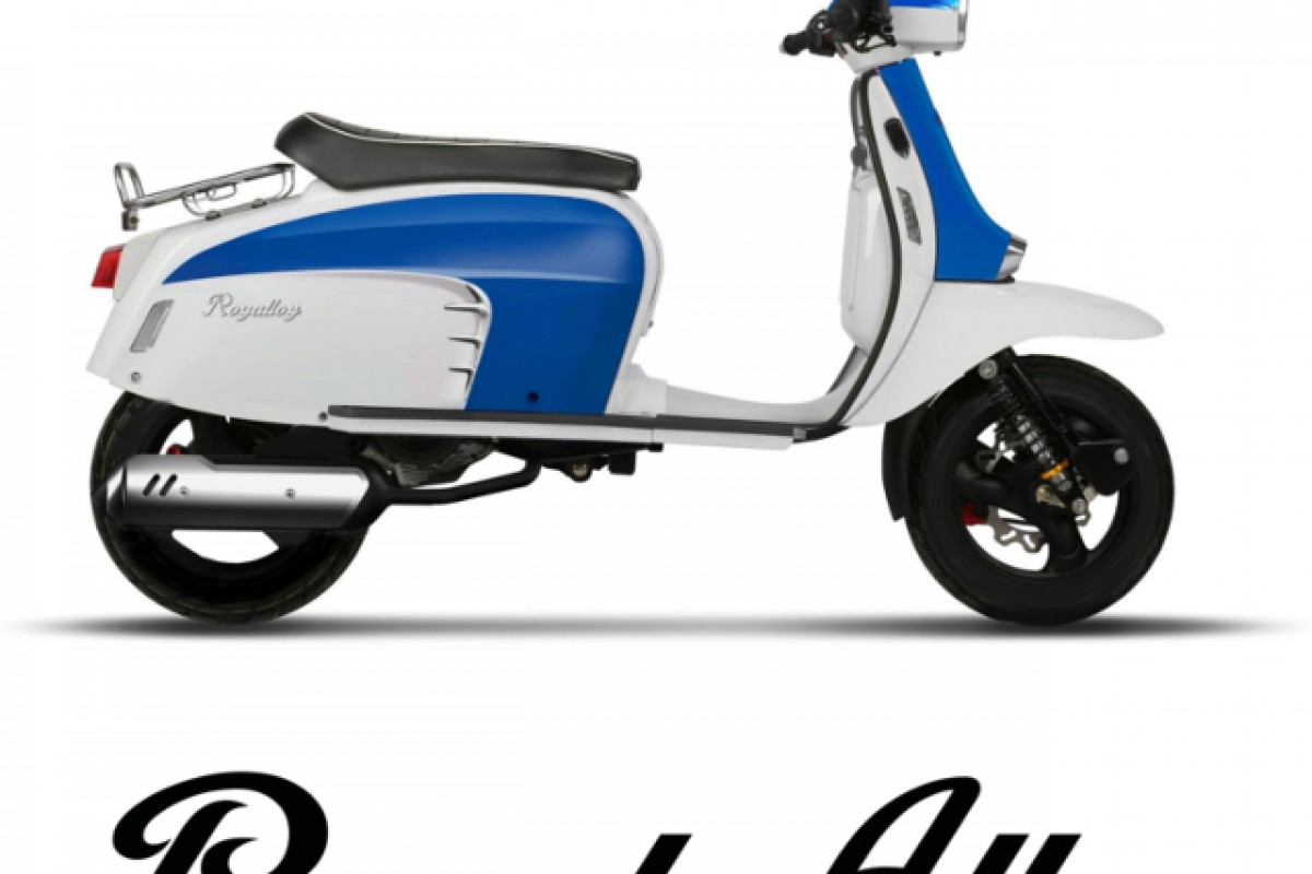Blue/White LOW STOCK GT 50cc
