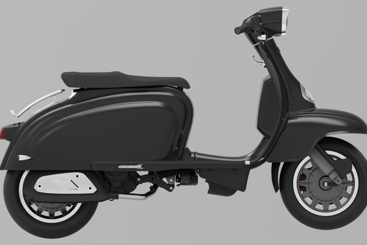 Jet Black TG 125cc S LC ABS