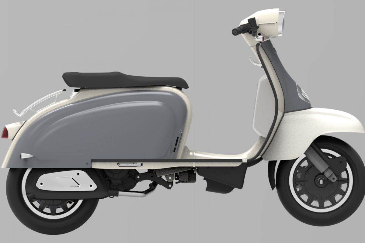 Pewter Grey - Ivory TG 125cc S LC ABS