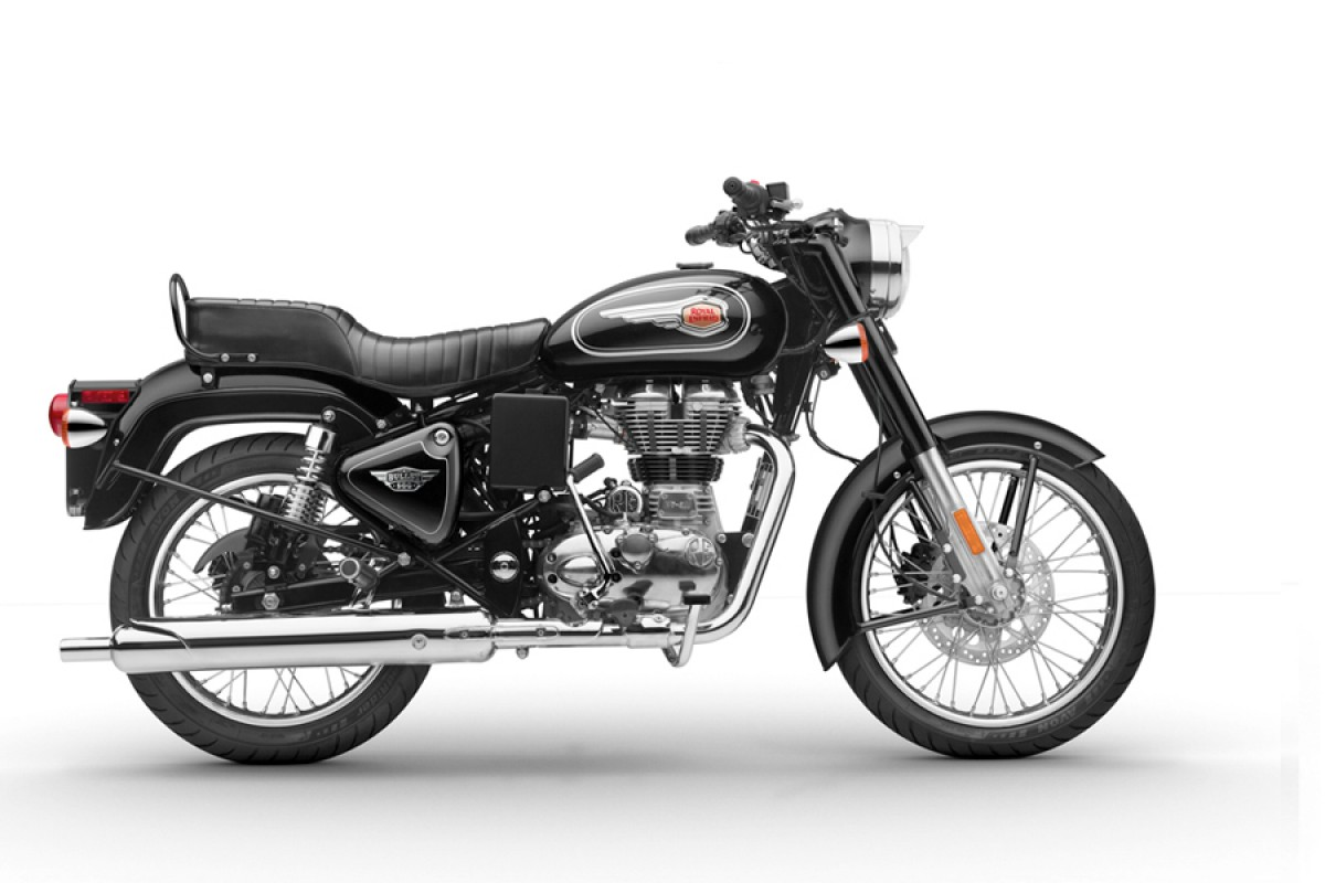 Black Royal Enfield Bullet 500 EFI