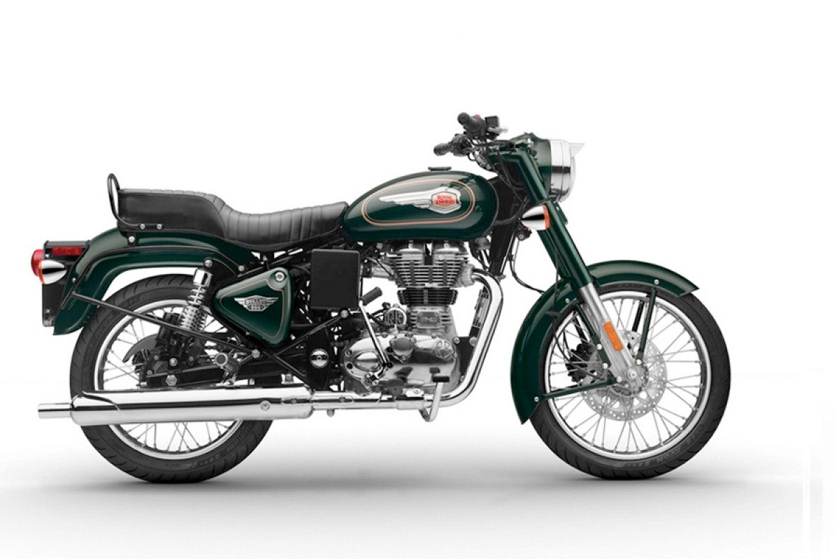 Forest Green Bullet 500cc EFI
