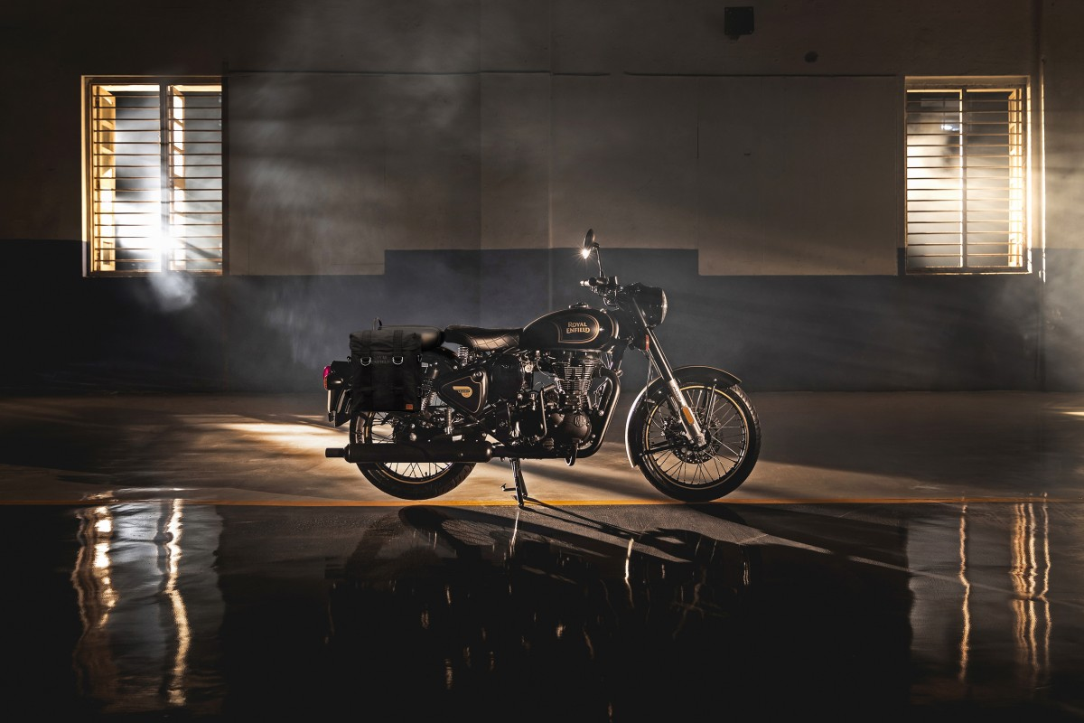 New Royal Enfield Classic 500 Tribute Black