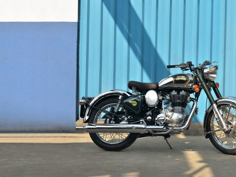 Royal Enfield Classic Chrome Black 2020