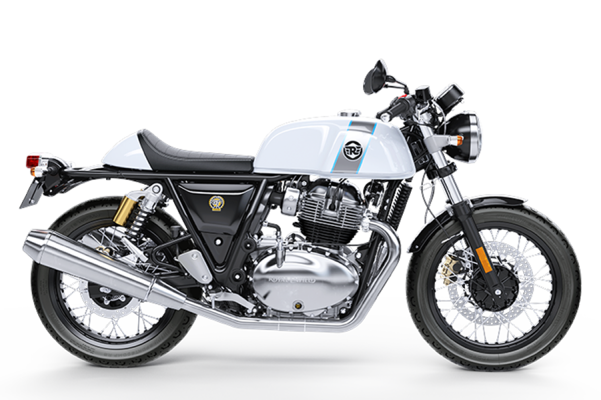 Ice Queen Continental GT 650 Twin Dual Color