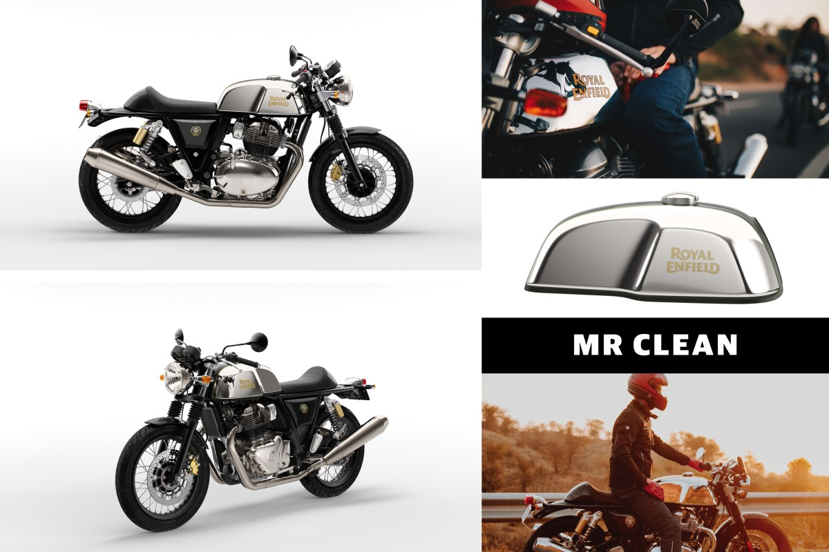 Mister Clean Continental GT 650 Twin Chrome Euro 5
