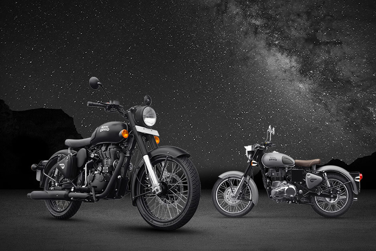 New Royal Enfield Classic Gun Metal