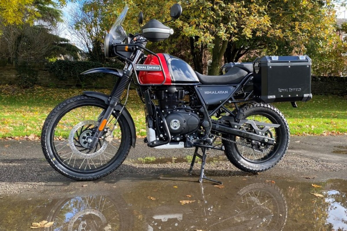 New Royal Enfield Himalayan Dual Color