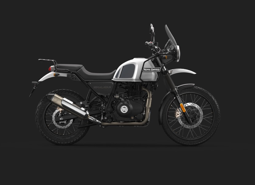 New Snow White Very Low StockRoyal Enfield Himalayan