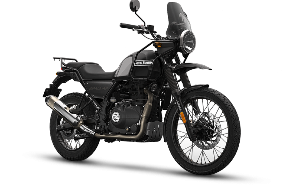 Granite Black Very Low Stock Himalayan Adventure Dual Color